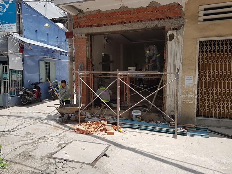 Bảng báo giá sửa chữa nhà trọn gói 2020 tại TPHCM