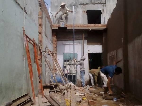 Sửa nhà nâng tầng đúc giả Huyện Nhà Bè