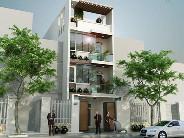 Thiết kế nhà phố trọn gói