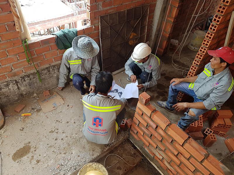 Thợ xây nhà trọn gói