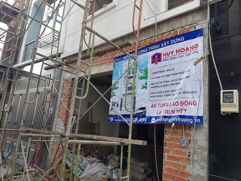 Dịch vụ thi công xây nhà trọn gói