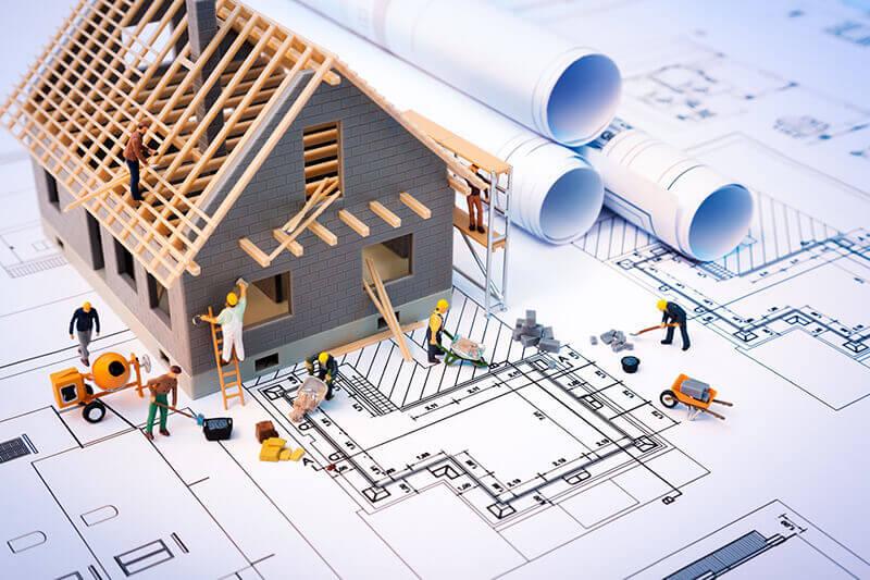 bảng vẽ xây nhà trọn gói
