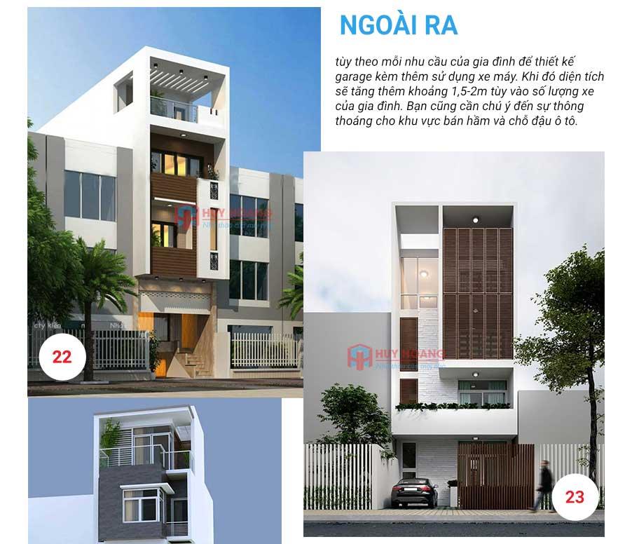 25 mẫu nhà phố đẹp có garage 10