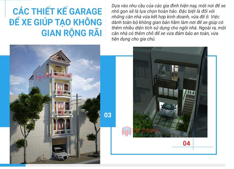 25 mẫu nhà phố đẹp có garage 2