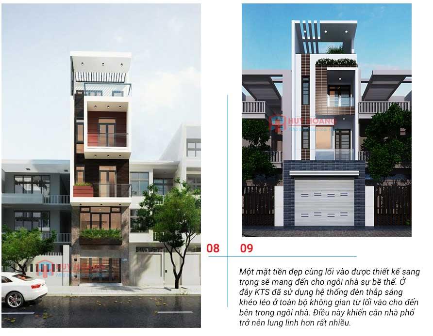25 mẫu nhà phố đẹp có garage 4
