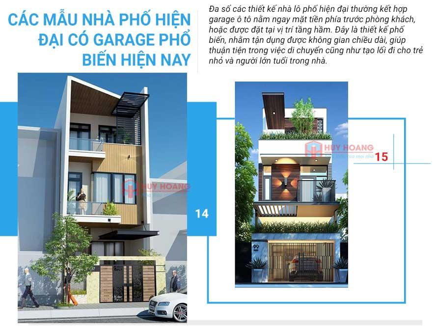 25 mẫu nhà phố đẹp có garage 7