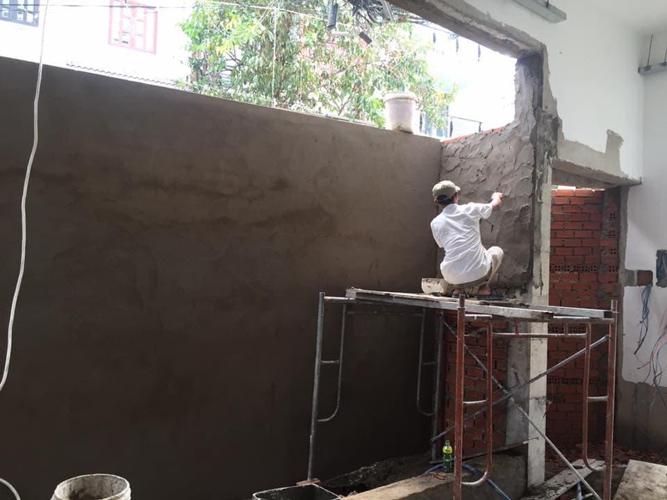 Kỹ thuật trát trong xây dựng