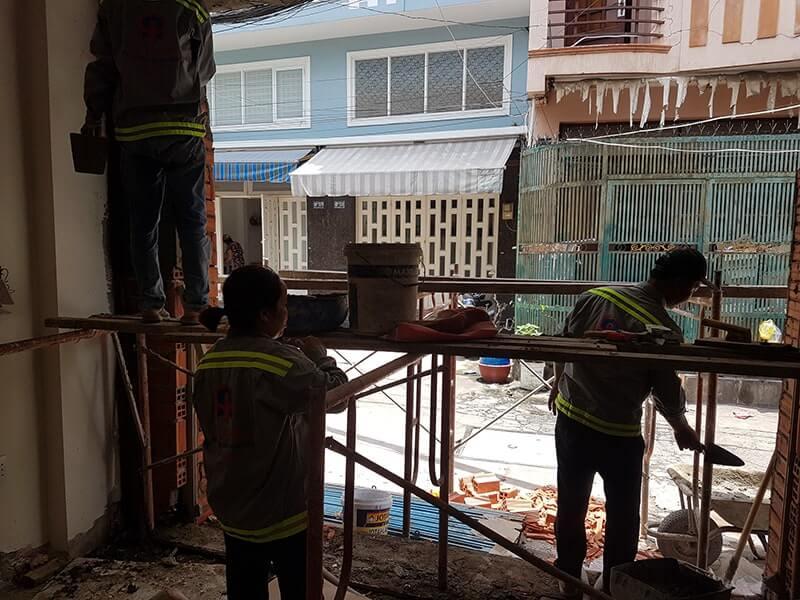 Dịch vụ sửa nhà huyện Cần Giờ