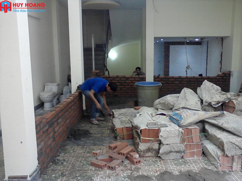 Dịch vụ sửa nhà huyện Nhà Bè uy tín chuyên nghiệp