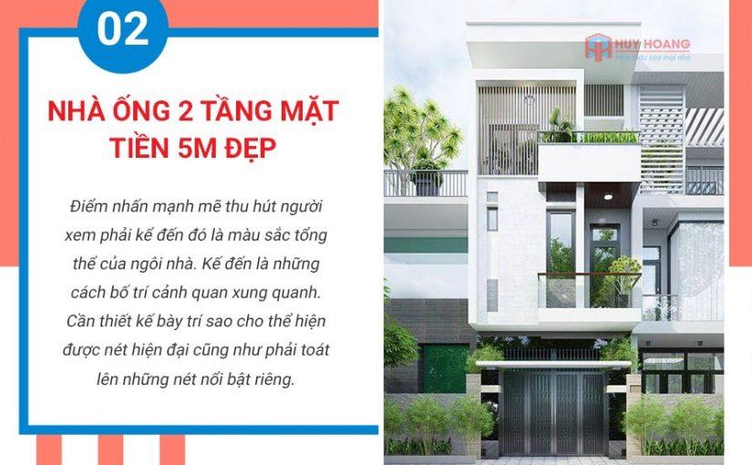 Top 10 mẫu nhà phố đẹp được ưa chuộn tại xây dựng huy hoàng 2