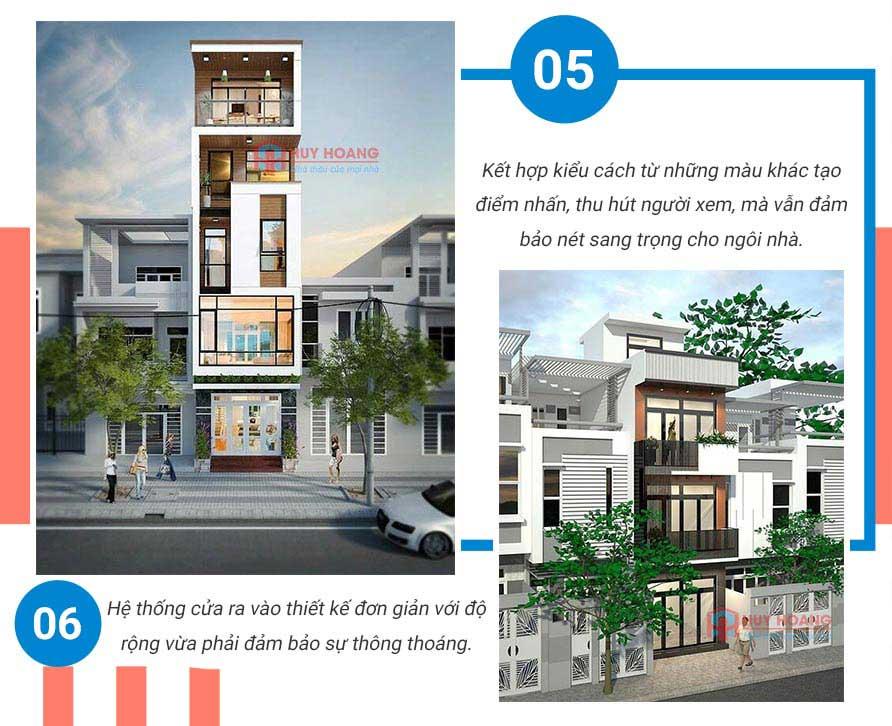 Top 10 mẫu nhà phố đẹp được ưa chuộn tại xây dựng huy hoàng 4
