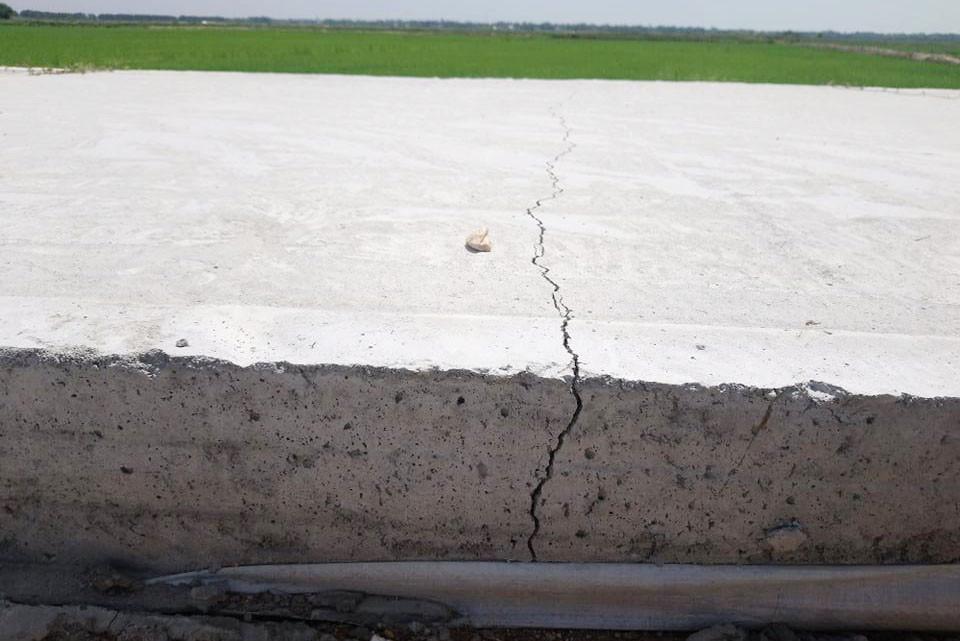 Vết nứt đổ bê tông