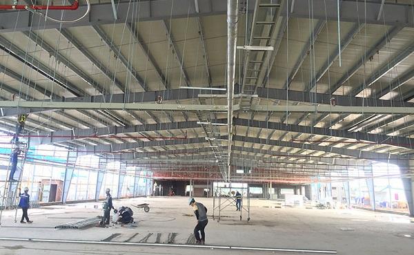 Dịch vụ sửa chữa nhà xưởng chuyên nghiệp tại Xây dựng Huy Hoàng
