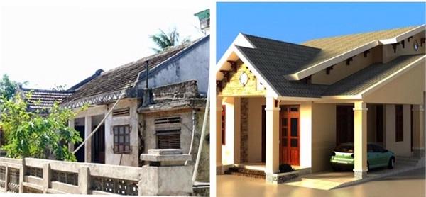 Lựa chọn dịch vụ sửa nhà cấp 4 cũ nhỏ thành nhà mới đẹp