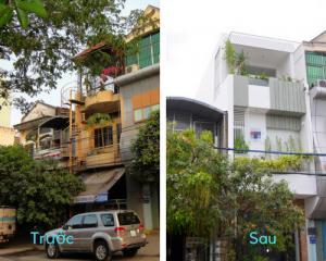 Phương pháp cải tạo nhà 3 tầng cũ, cải tạo nhà 3 gian cũ tối ưu