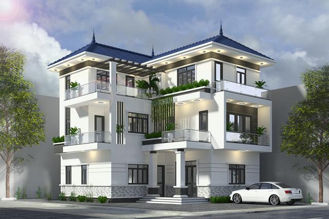 Top 10+ mẫu biệt thự 3 tầng hiện đại đẹp 2021 được xây nhiều nhất